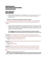 FdRel 250 Lesson 02 Writing Template