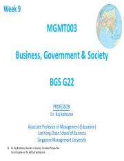 BGS 2013-14 T1 Week 09 Environmental Issues handout