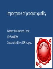 Importance of product quality.pptx