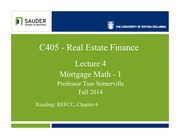 C405f14-Lec4-MortgMathInterest Rates.detailed