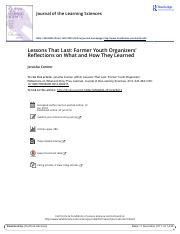 Lessons That Last Former Youth Organizers Reflections on What and How They Learned.pdf
