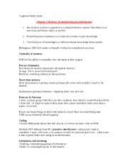 Cognition Study Guide REAL