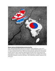 Korean History Lesson War Between North and South