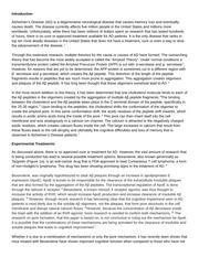 Alzheimer's research paper