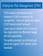 Session 6- Enterprise Risk Management and COSO.pptx