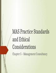 05 - MAS Practice Standards and Ethical Considerations - Part1.pptx
