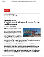 What slowing Trade Growth means for the global economy.pdf