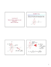 Lecture 06 - Electric field lines