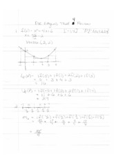 1431Exam4Review1Solutions