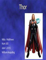 Thor Mythology