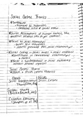 Social Control Theories Notes