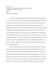 Poli Sci Second Essay