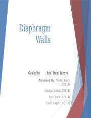 Diaphragm Walls.pptx