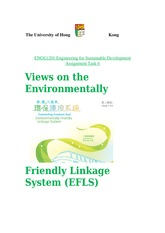 Views on the Environmentally Friendly Linkage System (EFLS)