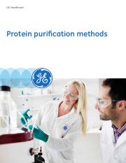 Protein purification methods 29155460