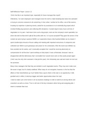 What is a self-reflection essay?