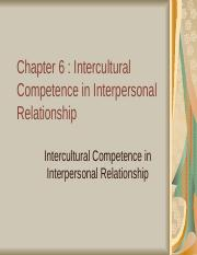 CHAPTER 6- INTERCULTURAL COMPETENCE.ppt