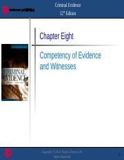 Evidence Chapter08.pptx