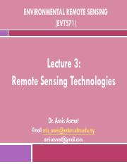 EVT571_NEW(Lec 3)_RS tech