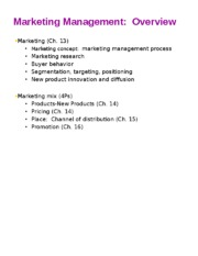 Section 3 Marketing-CIS chap 13 mktg-cis 13-16 Spring 2016.pptm