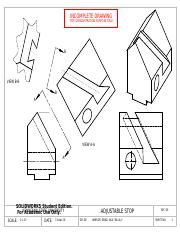SEC 09, A-09, WINSOR, BRAD, ADJUSTABLE STOP, LAYOUT DRAWING