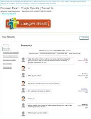 Focused Exam_ Cough _ Completed _ Shadow Health.pdf