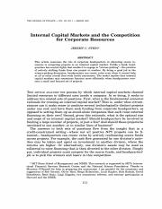 internal-capital-markets-jf-march-97