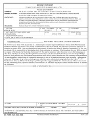 Example sworn statement 1 sworn statement for use of this form example sworn statement 1 sworn statement for use of this form see ar 190 45 the proponent agency is pmg privacy act statement authority title 10 thecheapjerseys