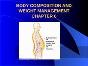 Chap 6 Weight Management2 (1)