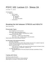 Lecture 13 - Stress P2.docx