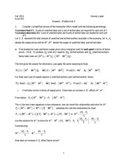 Answers - Problem Set 3
