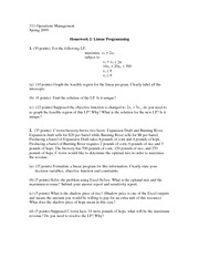 Homework2_Linear Programming