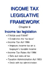 6 Income Tax Legislative Framework[rtf]
