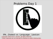 LING 101 - Clicker Problems-Day- 1-no-media