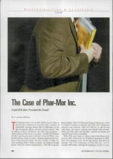 phar mor case solutions Thesis, an analysis of several cases of accounting fraud is conducted with  background  phar-mor 40 - 49 foundation for new era philanthropy 50 - 56  enron.