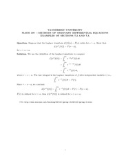 Math 198_Homework Solutions on Laplace Transform