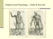 L2-ANH573w10 - POSTED - Anatomy-Physiology - Order - Survival