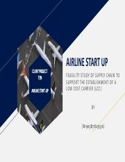 POWERPOINT PRESENTATION FOR AIRLINE STARTUP WEEK 11 TASK 2.pdf