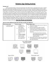 Law of superposition fossils worksheet