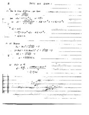 Exam A Solutions on Modern Physics For Engineers