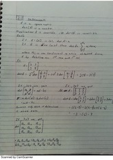 Determinents Notes
