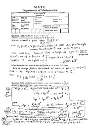 Math 120 2007-2008 Spring MidTerm-2-Solutions-WEB