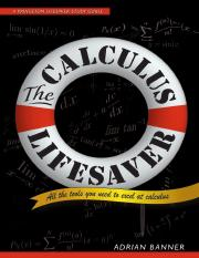The Calculus Lifesaver(1)(1)