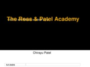 The Ross & Patel Academy