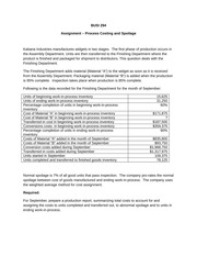 Assignment - Process Costing with Spoilage(2)