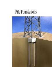 soils Pile Foundations 2:20.ppt