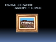 Bollywood Lecture 1