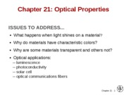 2010-04-14 Chapter 21 Optical Properties