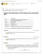 Review Test Submission: 203 chapter three powerpoint quiz &...