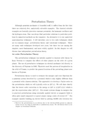 PHYS 485_Unit 7_perturbation